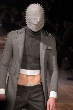 Horror inspired mens wear by Thom Browne