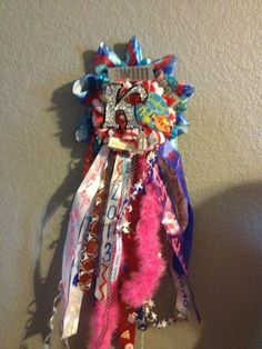 Creative custom Homecoming Mums by TheWorldIsOurCanvas on Etsy, $75.00