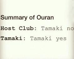 Tamaki yes, Ouran High School Host Club