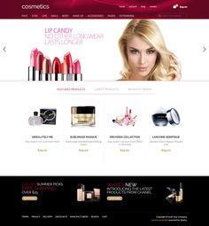 We are proud to announce the revamped version of the #Cosmetic #Joomla template.
