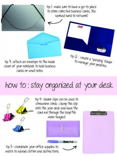 Trying to stay organized at your desk? Check out our tips and JAM Paper's Products to fix your desk dilemma! #organized #desk #office #paper #supply #tips #clutter #jampaper #stayorganized #fun #love