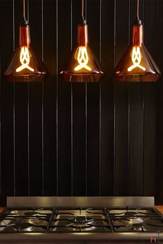 The Plumen Drop Top pendant set is perfect for creating a truly unique look in any room.