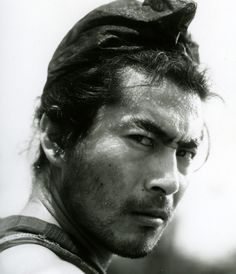 Toshiro Mifune (1920-1997) was a charismatic Japanese actor best known for his roles in Akira Kurosawa's masterpieces in the 1950s and 1960s: Seven Samurai, Rashomon, Yojimbo...
