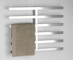 towel warming racks are usually a lot uglier than this...