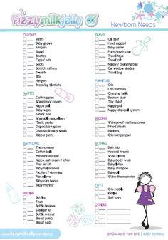 Newborn Essentials Checklist Save Money With Just The