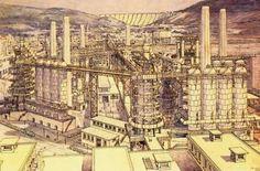 Visions de villes / Cities visions :: Tony Garnier - La Cité Industrielle (1917).