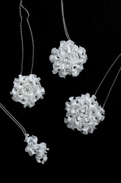 Floraform jewelry collection by nervous system