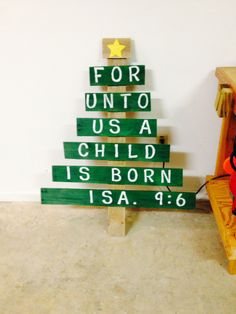 I did it! Pallet Christmas tree.-will take orders