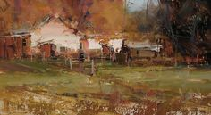 The Fall by Tibor Nagy Oil ~ 11 x 20