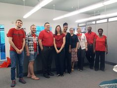 #DAAP Administrative Office rocking the Red and Black for #CollegeColors Day!