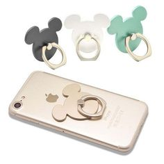 Mickey Holder 360° Ring Stand Finger Bracket For Smart Phones Iphone #samsung #Iphone