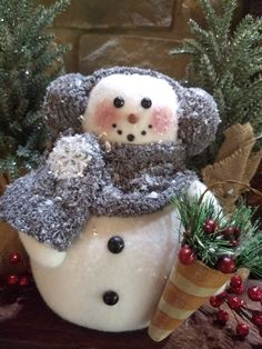 Christmas Snowman, Christmas Ideas, Christmas Crafts, Christmas Decorations, Christmas Ornaments, Holiday Decor, Sock Snowman, Snowmen, Sweater Scarf