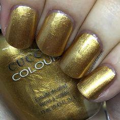 "Amy on Instagram: ""Russian Opulence by @cucciocolour #nails #notd #nailpolish #cuccio #meebox #nailsofinstagram #nailstagram #nailswatch"" Striping Tape, Nails Inc, Aphrodite, Swatch, Amy, Nail Polish, Instagram, Beauty, Beleza"