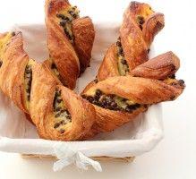 Recette - Torsades Suisses à la crème pâtissière et aux pépites de chocolat - Notée 4.5/5 par les internautes