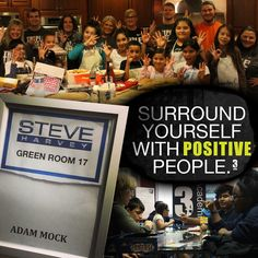 Surround yourself with POSITIVE PEOPLE. Triple Threat Mentoring was featured on The Steve Harvey Show with Medallion's very own, Adam Mock.  #triplethreatmentoring #3Threat #volunteer #mentor