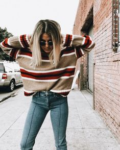 20 Edgy Fall Street Style 2018 Outfits To Copy Casual Fall Fashion Trends & Outfits 2018 Street Style 2018, Looks Street Style, Looks Style, My Style, Street Styles, Street Style Edgy, Curvy Style, Autumn Fashion Casual, Fall Fashion Trends