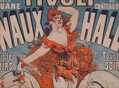 1872 Signed Jules Cheret Poster 50% off the day of the sale