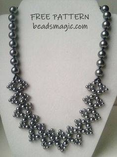 Free pattern for necklace Molly | Beads Magic | Bloglovin'