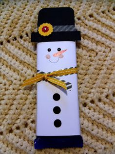 Cute Snowman and uh... chocolate!!!