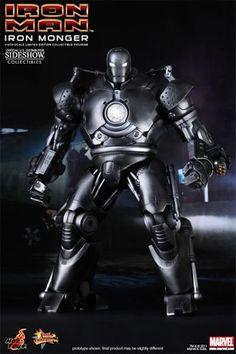 Iron Man - Iron Monger - Hot Toys