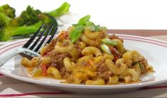 Macaroni à la viande, sriracha de Dany St-Pierre