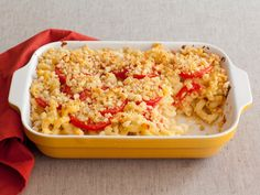 Yes!!!  Very yummy.  Used broccoli instead of tomato.  Used Progresso bread crumbs instead of sliced bread.  Mac and Cheese Recipe - Food Network
