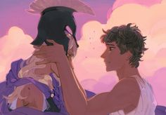 ik this isn't pjo-related but i can't help wonder how beautiful this would be as percabeth