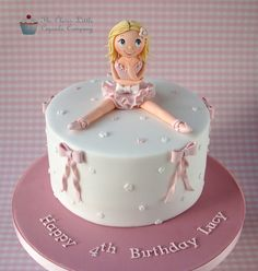 Ballerina Celebration Cake | by The Clever Little Cupcake Company