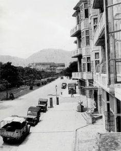 1940s Junction of Chatham Road and Mody Road, Hong Kong