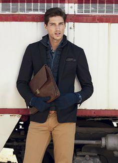 Looks elegantes y tonos neutros en la colección otoño invierno 2013/20114  de H.E. by Mango