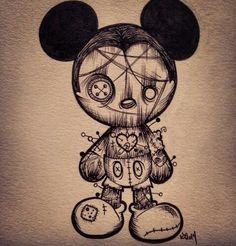 Uploaded by row. Find images and videos about drawing and draw on We Heart It - the app to get lost in what you love. Creepy Drawings, Dark Art Drawings, Halloween Drawings, Creepy Art, Pencil Art Drawings, Art Drawings Sketches, Tattoo Drawings, Cute Drawings, Mouse Tattoos