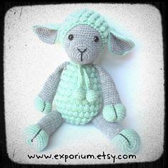 #amigurumi #lamb @exporium.au #etsy #babygifts #exporium #handmade #crochet