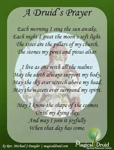 Druids Prayer