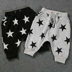 >> Click to Buy << 2015 SUMMER STYLES  NUNUNU Spring  summer new arrival nununu five-pointed star PRINTED  child 7 harem pants BOYS COTHING GARCO #Affiliate