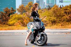 Yamaha NVX 155 độ monoshock độc đáo hàng đầu tại Việt Nam   Xe độ   Xe & Đời sống Aerox 155 Yamaha, Yamaha Scooter, Asian Woman, Motorcycle, Cute, Women, Gatos, Kawaii, Motorcycles