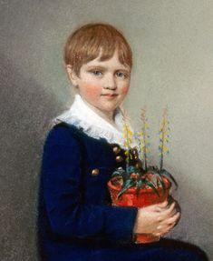 Charles Darwin aged 6