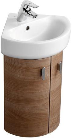 Ideal Standard Concept Wall Corner Unit E6463 Glossy White