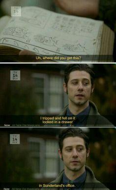 HAHAHA...he cracks me up every episode!