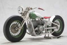 BMW Bobber aka Cadbike #33. Made from an old BMW R90s and the frame of an R51.