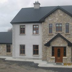 Stone facing and stone cladding Ireland, Century Stone Ireland - Stone Cladding . - Stone facing and stone cladding Ireland, Century Stone Ireland – Stone Cladding (Exteriors) - Stone Cladding Exterior, Stone Exterior Houses, House Cladding, Dream House Exterior, Stone Houses, Stone Facade, House Exteriors, Style At Home, House Designs Ireland
