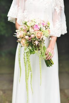 #Bouquet | British Wedding Inspiration Shoot on #SMP Weddings: http://www.stylemepretty.com/destination-weddings/2013/12/09/london-garden-bridal-shoot/ Kristyn Harder Photography