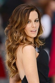 Kate Beckinsale. JEEZ where do I start? Absolutely ROCKIN'!! If you're small framed, keep your longest layer just above the bra strap, and create some dimension with a soft ombre that also pulls your darker tones through the ends of your hair.