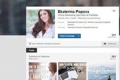 Ekaterina Popova on LinkedIn