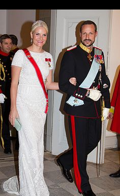 Crown Princess Mette Marit & Prince Haakon of Norway