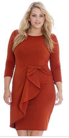 Plus Size Midi Dress