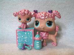 Ebay Item : Mama & Baby Poodle