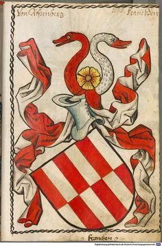 Scheibler'sches Wappenbuch Süddeutschland, um 1450 - 17. Jh. Cod.icon. 312 c  Folio 235