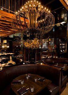 Exclusive restaurant. Luxury restaurant design. Elegant decoration. For more decor inspirations http://www.bocadolobo.com/en/inspiration-and-ideas/