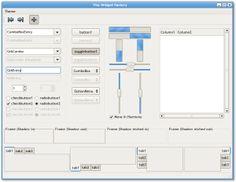 The Widget Factory Screenshot