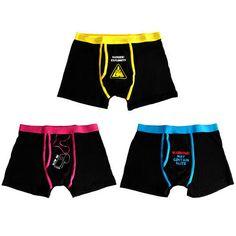 Calzoncillos boxer con mensajes divertidos 3 uds. | Tecniac